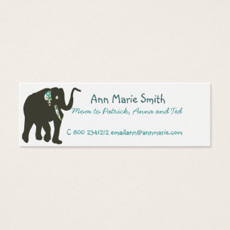 Mini Carte De Visite Télécarte de maman