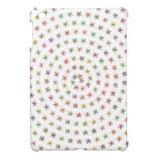 Mini cas brillant de finition d'iPad floral Girly Étui iPad Mini