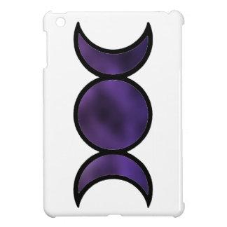 Mini cas d'iPad pourpre de déesse Étui iPad Mini