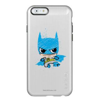 Mini croquis de Batman Coque iPhone 6 Incipio Feather® Shine