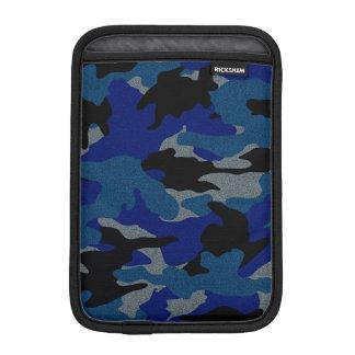 Mini douilles d'iPad militaire bleu approximatif Housses iPad Mini