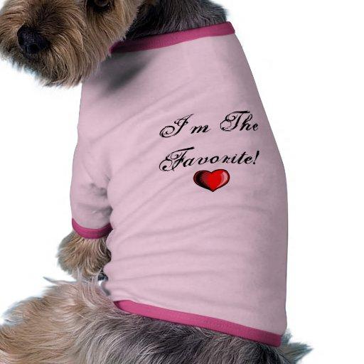 Mini favori tee-shirts pour animaux domestiques