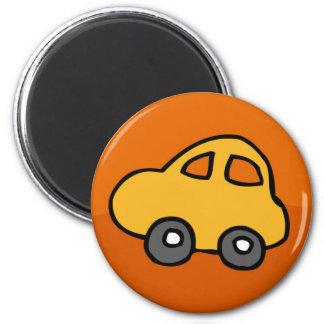 Mini mini voiture magnet rond 8 cm