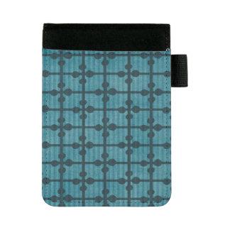 Mini Padfolio Arrière - plan bleu abstrait de conception de