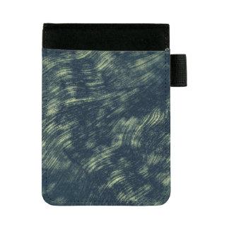 Mini Padfolio Arrière - plan bleu et blanc abstrait de texture