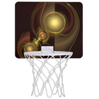 Mini-panier De Basket Art abstrait de connexion intime