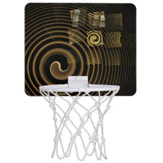 Mini-panier De Basket Art abstrait d'hypnose