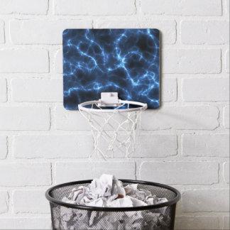 Mini-panier De Basket Bleu électrique