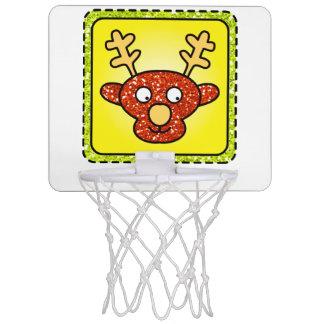 Mini-panier De Basket Conseil de basket-ball de renne de Noël
