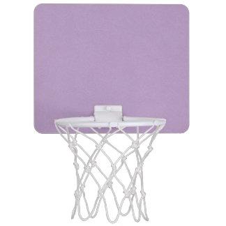 Mini-panier De Basket Couleur mauve-clair texturisée