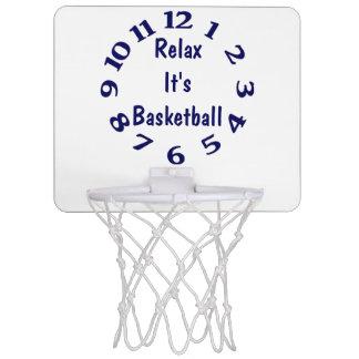 Mini-panier De Basket Détendez-le est temps de basket-ball