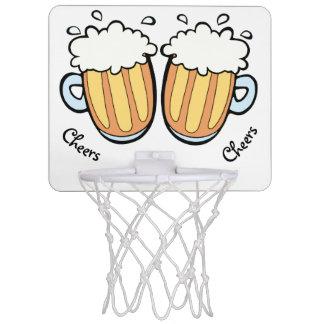 Mini-panier De Basket Deux bières