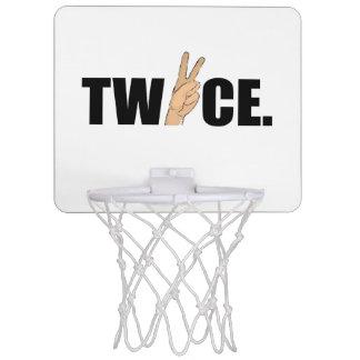 Mini-panier De Basket Deux fois