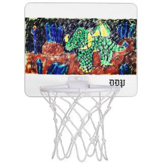 Mini-panier De Basket Dragon et saphir deux