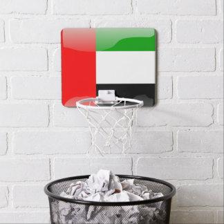 Mini-panier De Basket Drapeau brillant des Emirats Arabes Unis