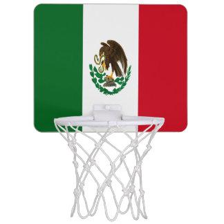 Mini-panier De Basket Drapeau du Mexique