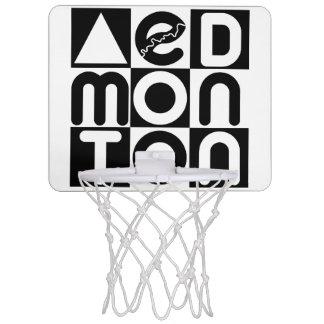 Mini-panier De Basket Filet de basket-ball de puzzle d'Edmonton