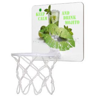 Mini-panier De Basket Gardez Mojito calme