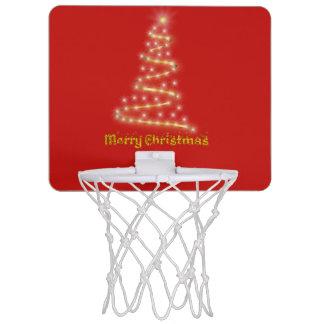 Mini-panier De Basket Joyeux Noël