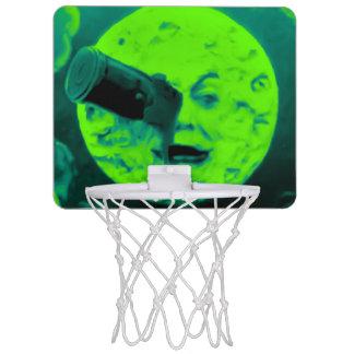 Mini-panier De Basket La Lune rétro Martien brouillé vintage de dans de