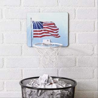 Mini-panier De Basket Les Etats-Unis diminuent dans le vent