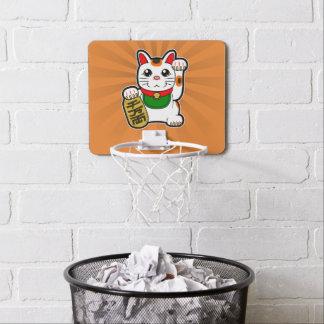 Mini-panier De Basket Maneki Neko : Chat chanceux japonais