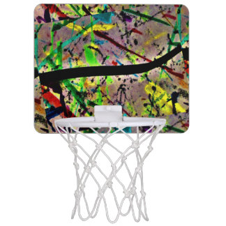 Mini-panier De Basket Mini cercle de basket-ball rose, rouge, bleu