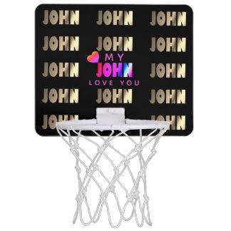 Mini-panier De Basket Panier élégant et romantique pour John