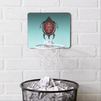 Mini-panier De Basket Tatouage de tortue d'imaginaire