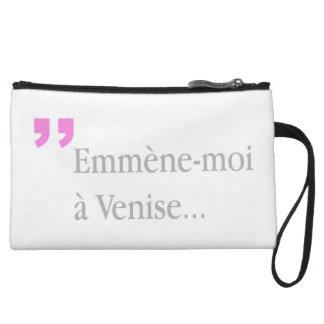 Mini-pochette l'Emmene-moi un Français d'amants de Venise
