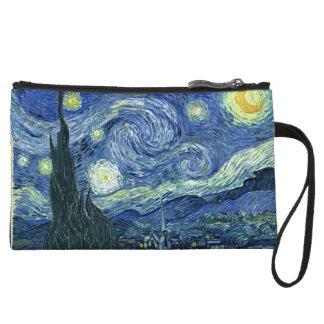 Mini-pochette Nuit étoilée de Van Gogh