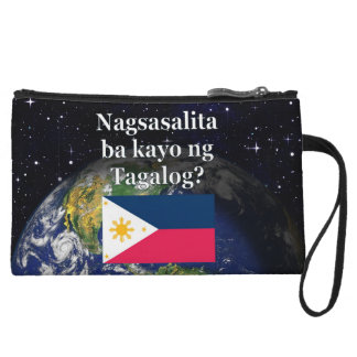 Mini-pochette Parlez-vous Tagalog ? dans le Tagalog. Drapeau et