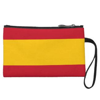 Mini-pochette Portefeuille de bracelets de drapeau de l'Espagne