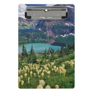 Mini Porte-bloc Beargrass au-dessus de lac Grinnell