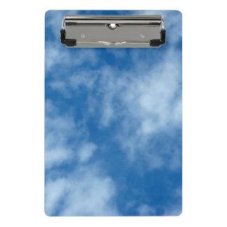 Mini Porte-bloc Ciel bleu avec la photo de nuages