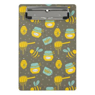 Mini Porte-bloc Motif de Dipper de miel d'apiculteur