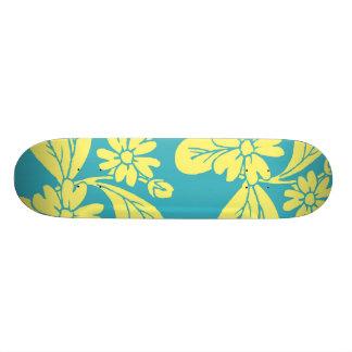 Mini Skateboard 18,4 Cm Le surf fleurit la planche à roulettes