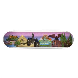 Mini Skateboard 18,4 Cm Mondes Wizard101 de la planche à roulettes en