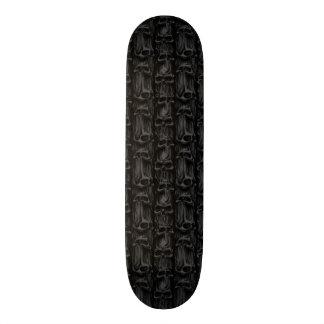 Mini Skateboard 18,4 Cm Pilier de planche à roulettes de crânes