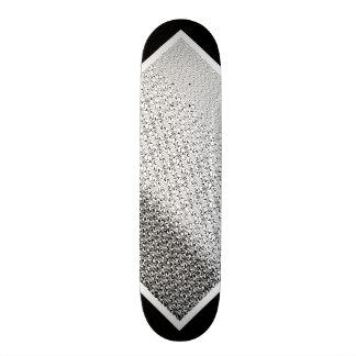 Mini Skateboard 18,4 Cm Plate-forme personnalisable 2 de motif tribal noir