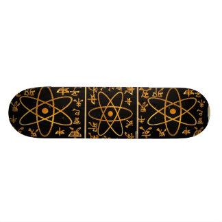 Mini Skateboard 18,7 Cm ATOME NUCLEAS n CHARACTORS CHINOIS