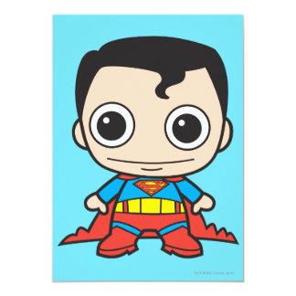 Mini Superman 12,7x17,8 Uitnodiging Kaart