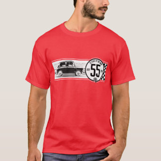 Mini T-shirt classique de 55 anniversaires