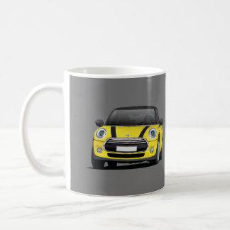Mini tonnelier S, tasse de 2 images, jaune - noir