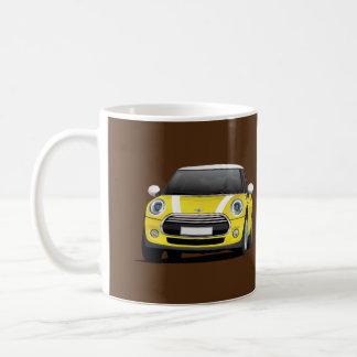 Mini tonnelier S, tasse de deux images, jaune -
