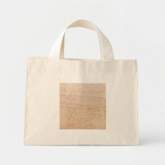 Mini Tote Bag Arrière-plan de bois