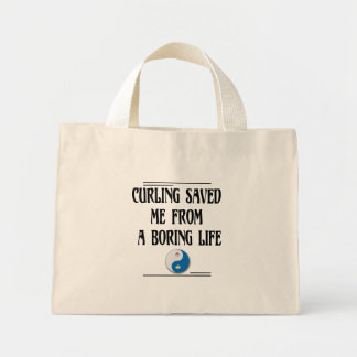 Mini Tote Bag Bordage sauvé me d'une vie ennuyeuse