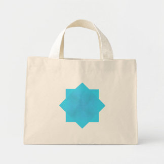 Mini Tote Bag Brume d'Aqua par Kenneth Yoncich