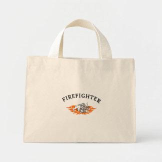 Mini Tote Bag Chien de Taureau de sapeur-pompier dur