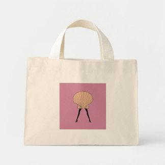 Mini Tote Bag Femme coquillage